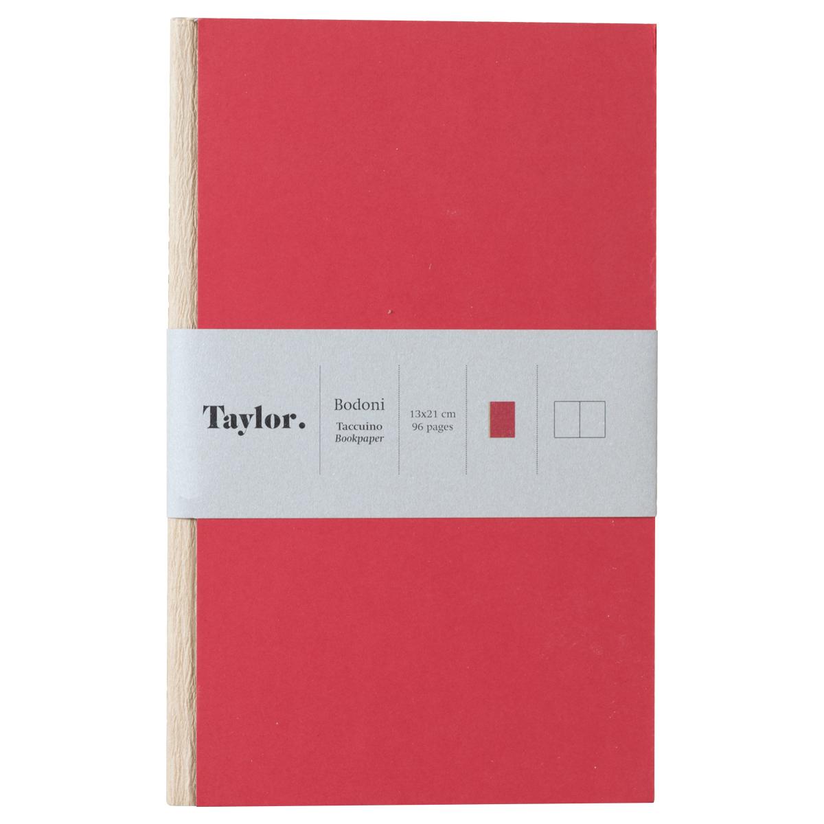 Taccuino piccolo pagine bianche Taylor Bodoni