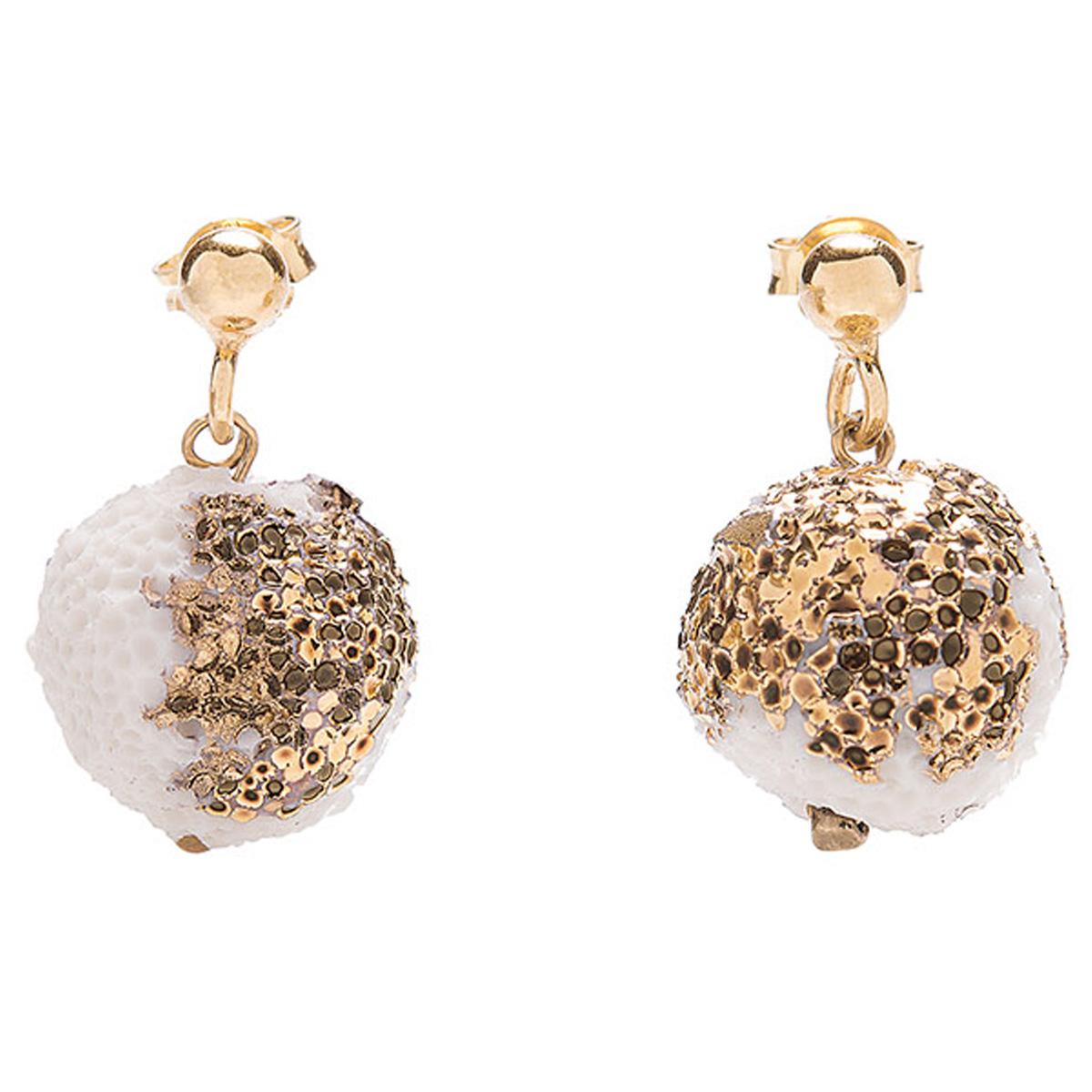 Orecchini perla singola Reef by Maria Diana