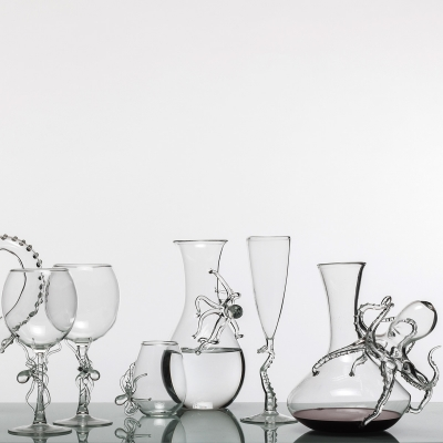 Decanter Tentacles by Simone Crestani