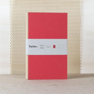 Taccuino piccolo pagine bianche Taylor Bodoni by Rubbettino