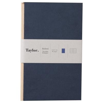 Taccuino piccolo a righe Taylor Bodoni by Rubbettino
