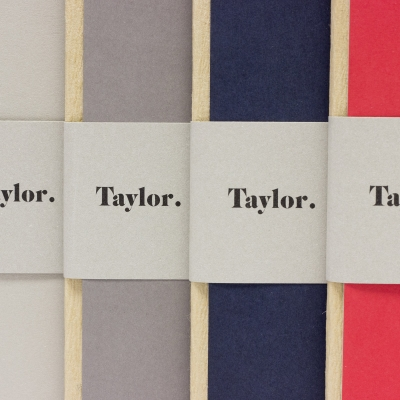 Taccuino piccolo puntinato Taylor Bodoni by Rubbettino