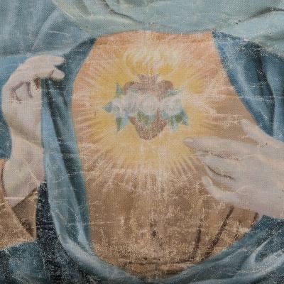 Capezzale Cuore Immacolato di Maria by Stefania Boemi