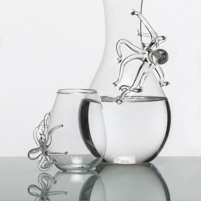 Bicchiere acqua Polpo by Simone Crestani