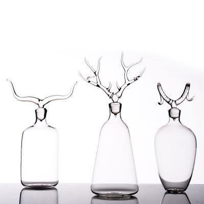 Bottiglia liquore Longhorn by Simone Crestani