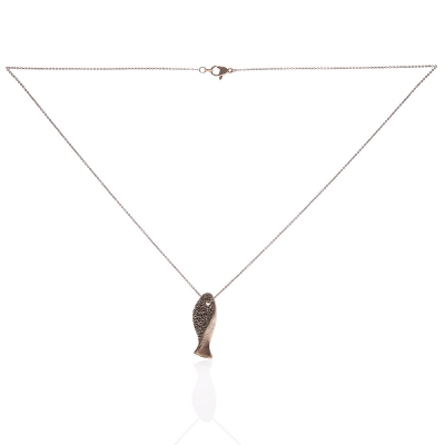 Catenina con pendente Pesciolino by Maria Diana