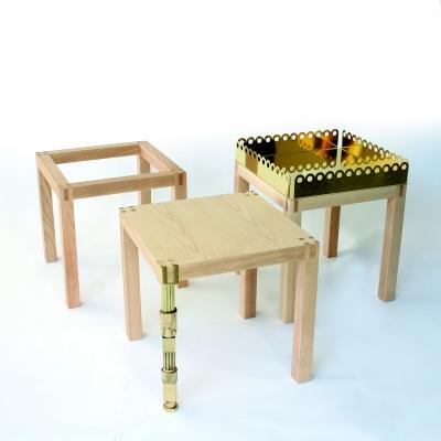 Tavolino design Brutto Anatroccolo 1 by Gumdesign