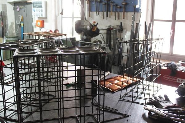 La Fucina di Efesto, sculture moderne in metallo - Milano
