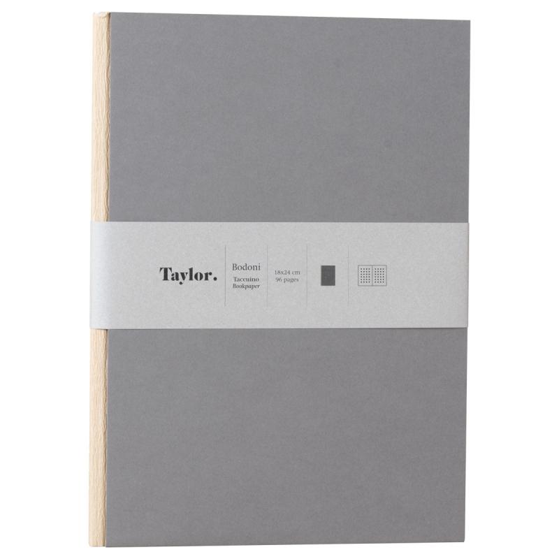Taccuino grande puntinato Taylor Bodoni by Rubbettino